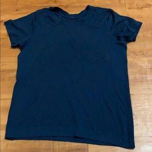 Blue LULULEMON lightweight Shirt Size 6